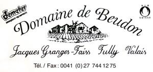 Domaine de Beudon - Les vignes dans le ciel