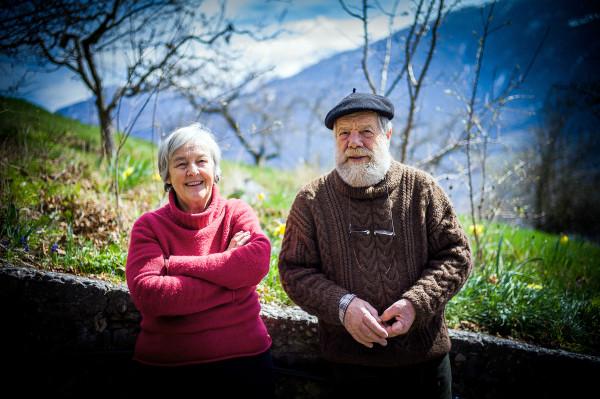 Marion et Jacques Granges - Photo Olivier Maire / photo-genic.ch